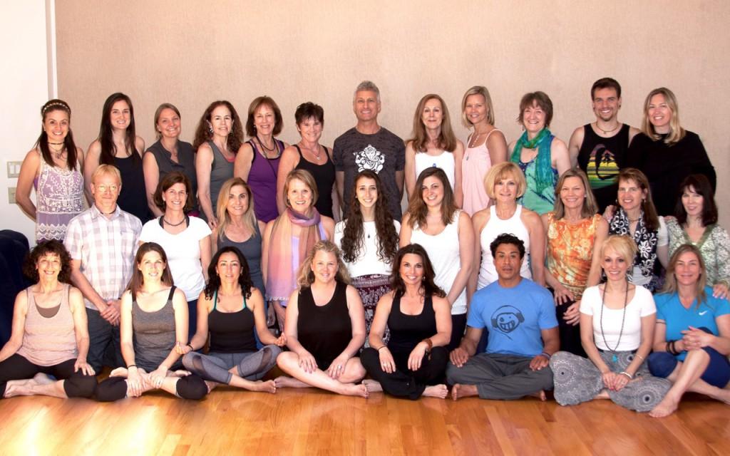Yoga Teacher Training Graduates Boston Graduating Class June, 2015   Arlington, MA