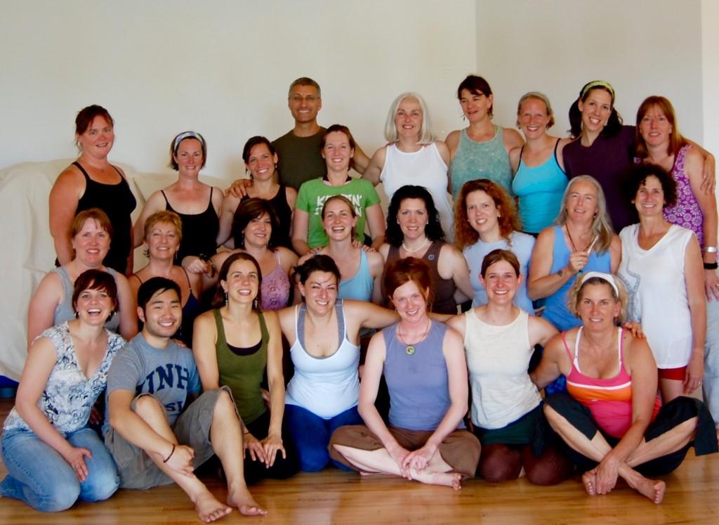 Yoga Teacher Training Graduates Boston Graduating Class   June, 2008, Dover, NH