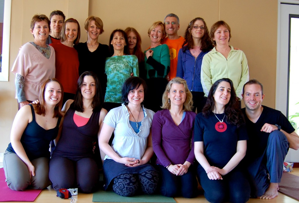 Yoga Teacher Training Graduates Boston Graduating Class May, 2009 | Somerville, MA