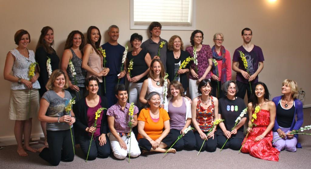 Yoga Teacher Training Graduates Boston June, 2012   Arlington, MA
