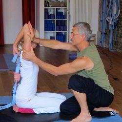July 13th ~ Partner Stretching and Shiatsu, Laughing Dog Yoga, Wellesley, MA