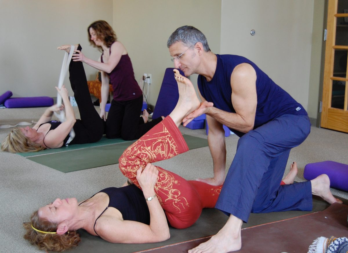 Meridian Yoga with Daniel Orlansky. Stretching the Bladder Meridian.