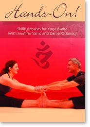 Daniel Orlansky's Hands On! DVD used in Arlington, MA yoga teacher training