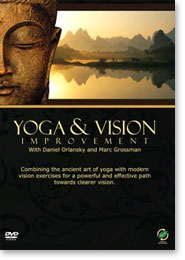 Daniel Orlansky's Yoga and Vision Improvement DVD used in Arlington, MA yoga teacher training